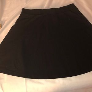 H&M flare mini skirt